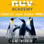NUV Academy_gratis voor leden MMA