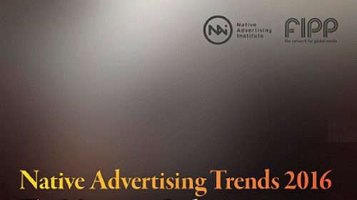 Native advertising Trends 2016