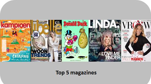 top 5 magazines