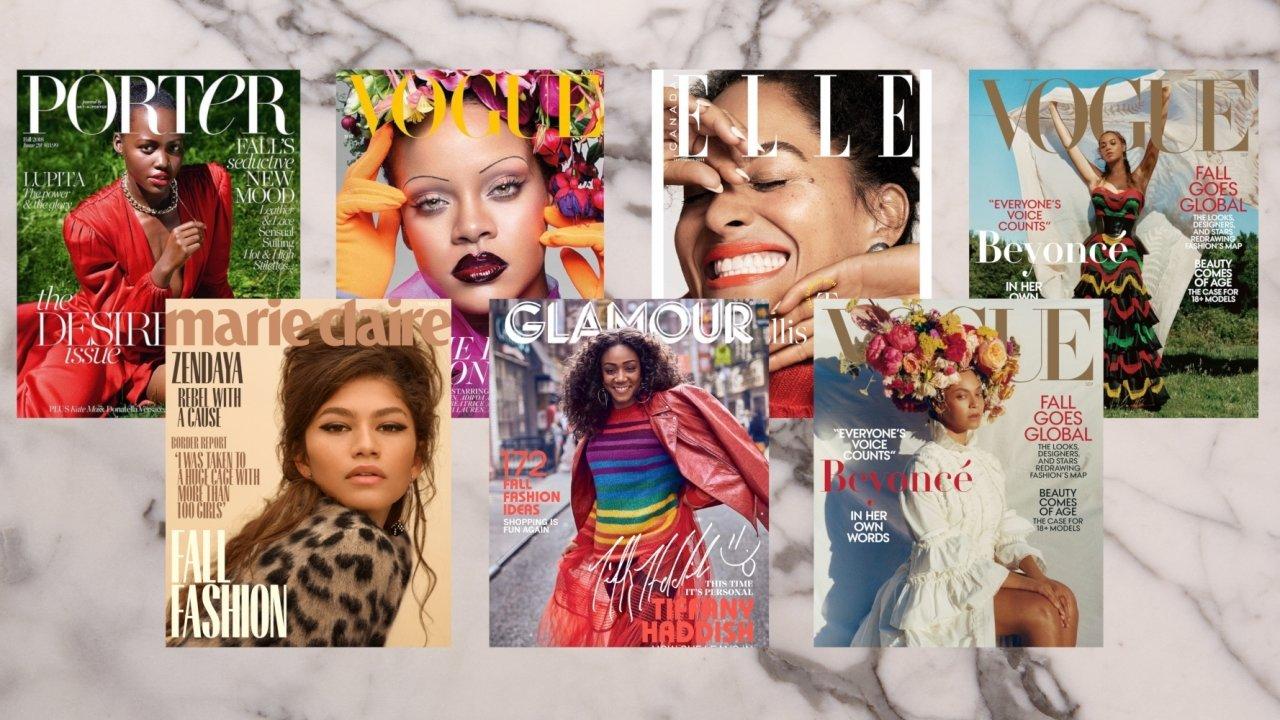 Hedendaags Blackgirlmagic: toonaangevende tijdschriften geprezen om keuze IG-89