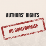 Authors rights no compromise
