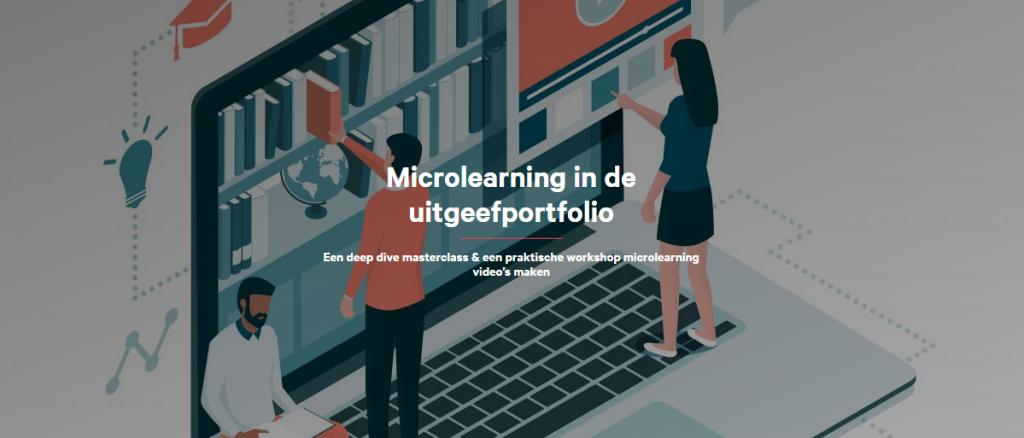 Microlearning in de uitgeefportfolio